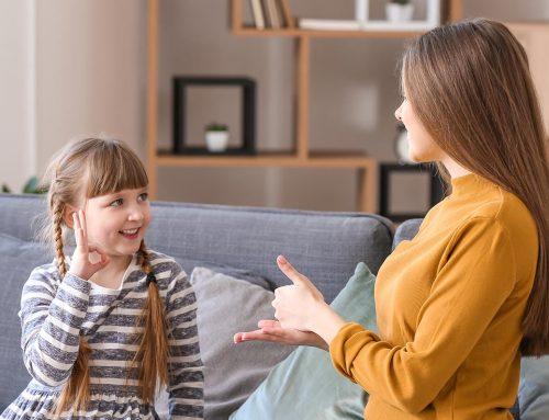 Was ist gebärdenunterstützte Kommunikation für Kinder?
