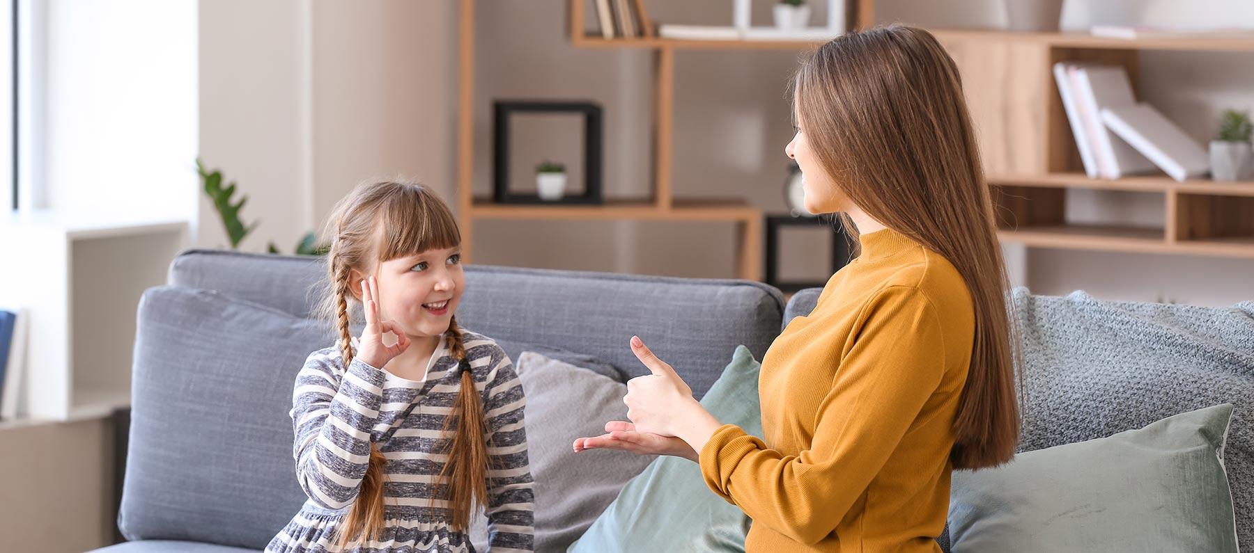 gebärdenunterstützte Kommunikation für Kinder